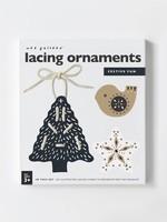 Wee gallery Festive Fun Lacing Ornaments
