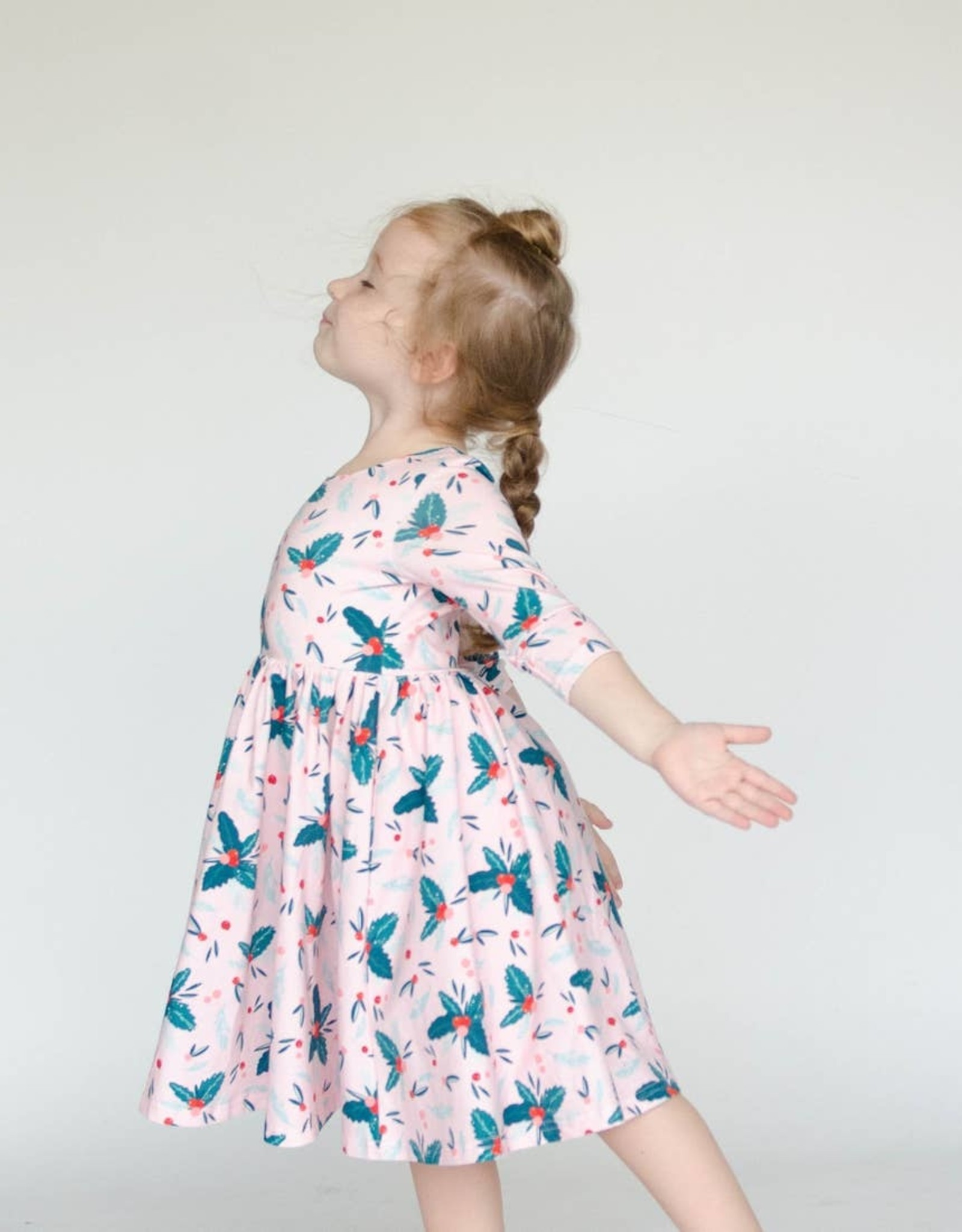 ollie jay Holly Berry Twirl Dress
