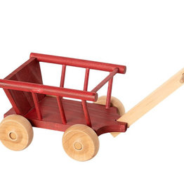 maileg Red Wagon