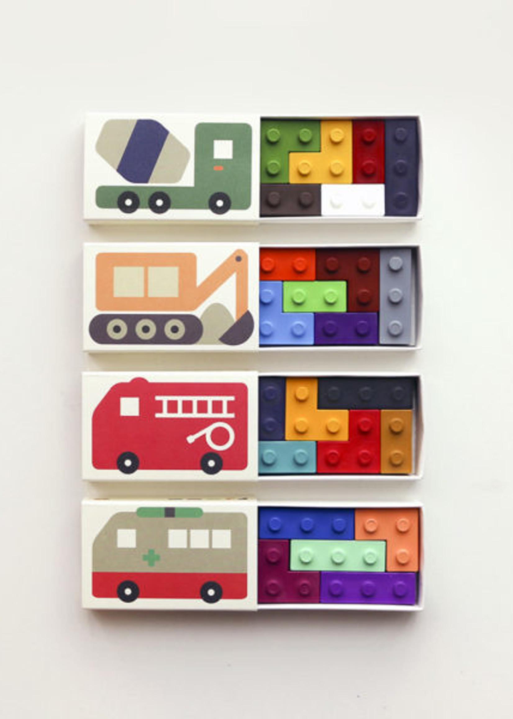 Pocket Crayons - Cars