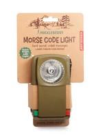 huckleberry by kirkland Morse Code Flashlight