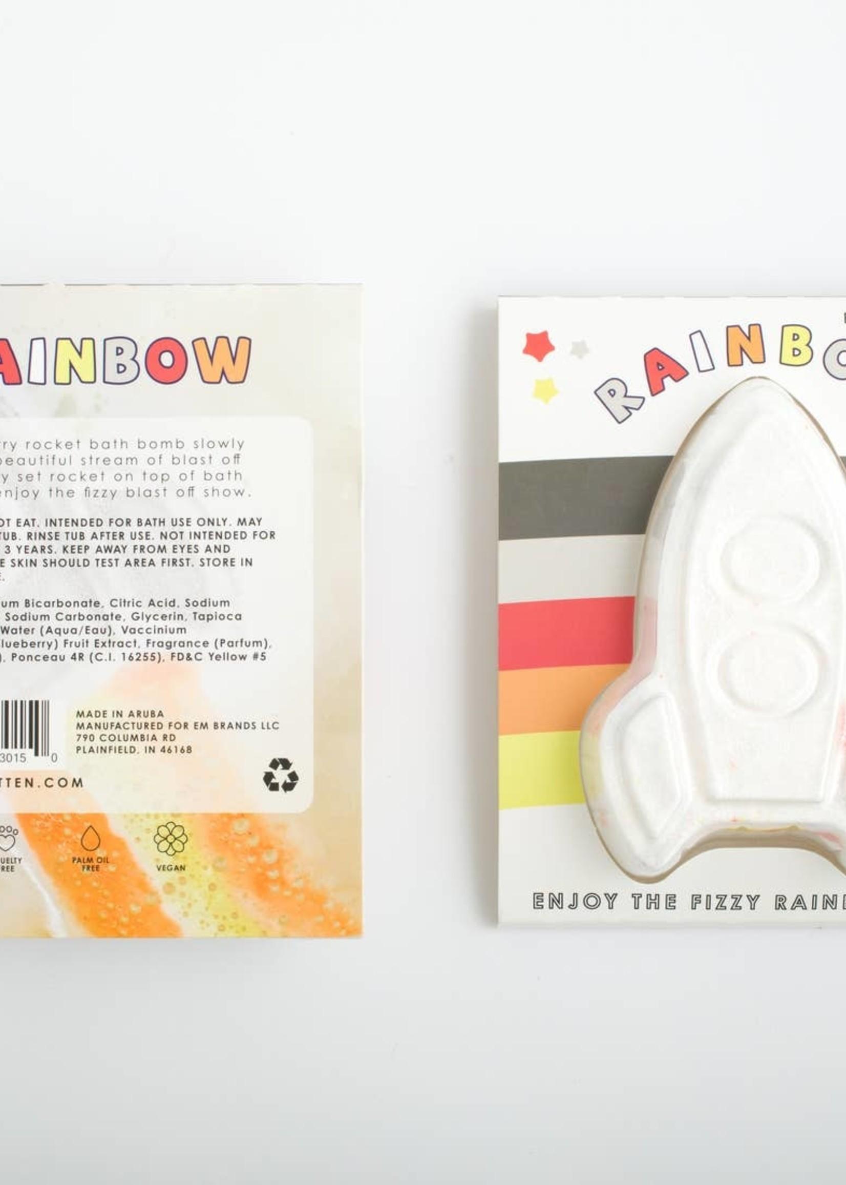 feeling smitten Rocket Rainbow Bath Bomb