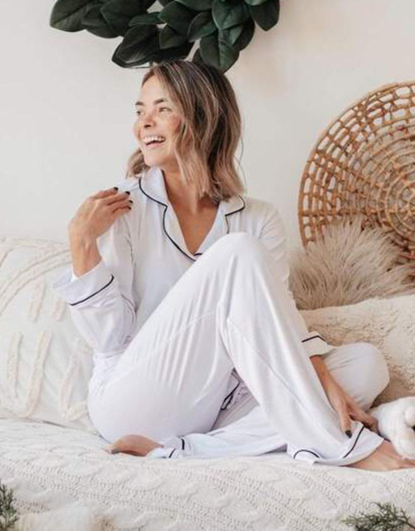 Kyte baby Women's Pajama Set in Snow