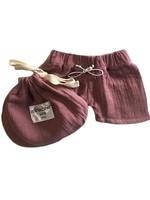 minikane Vito Bathing Trunks in rose Minikane clothing