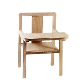 minikane Wooden High Chair for Minikane