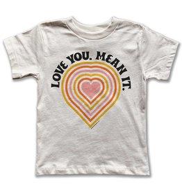 Rivet apparel Love You. Mean it. Tee