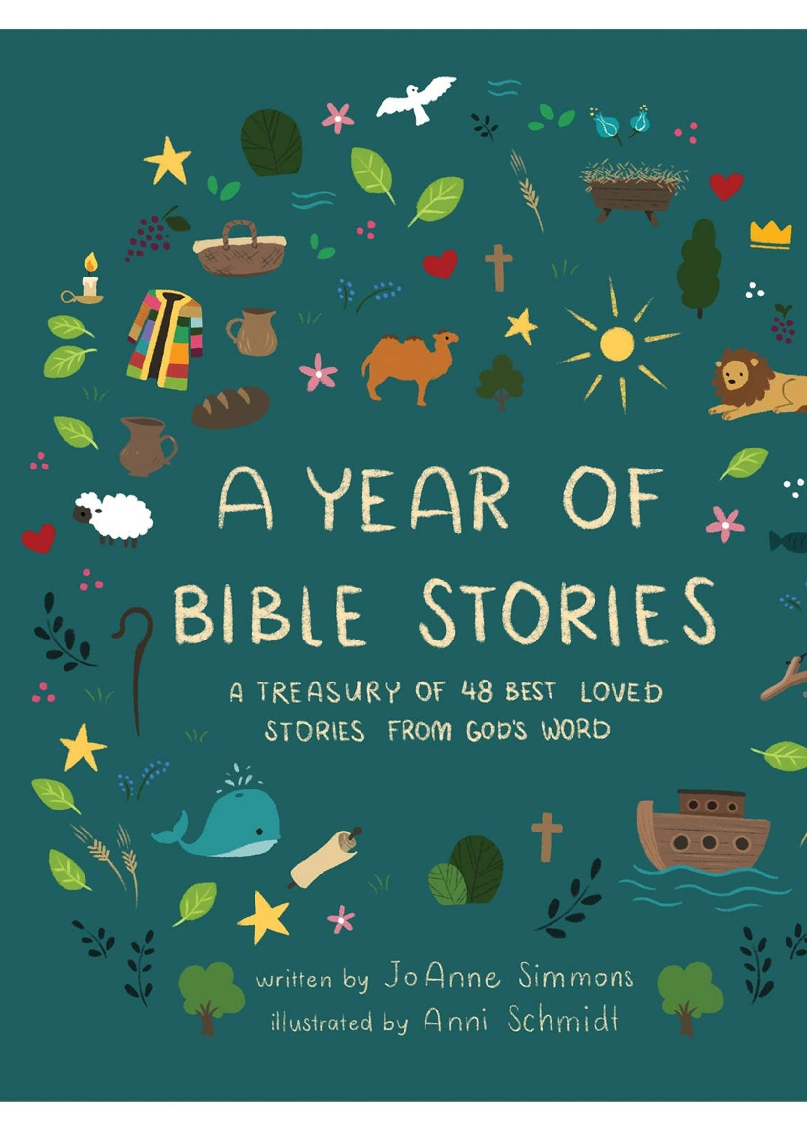 Barbour Publishing A Year of Bible Stories