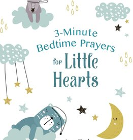 Barbour Publishing 3 Minute Bedtime Prayers for Little Hearts