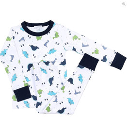 magnolia baby Dino Days Long Pajamas