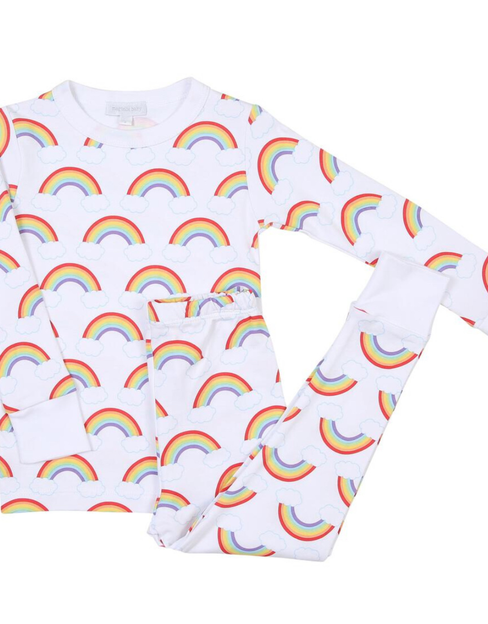 magnolia baby My Rainbow Long Sleeve Pajama