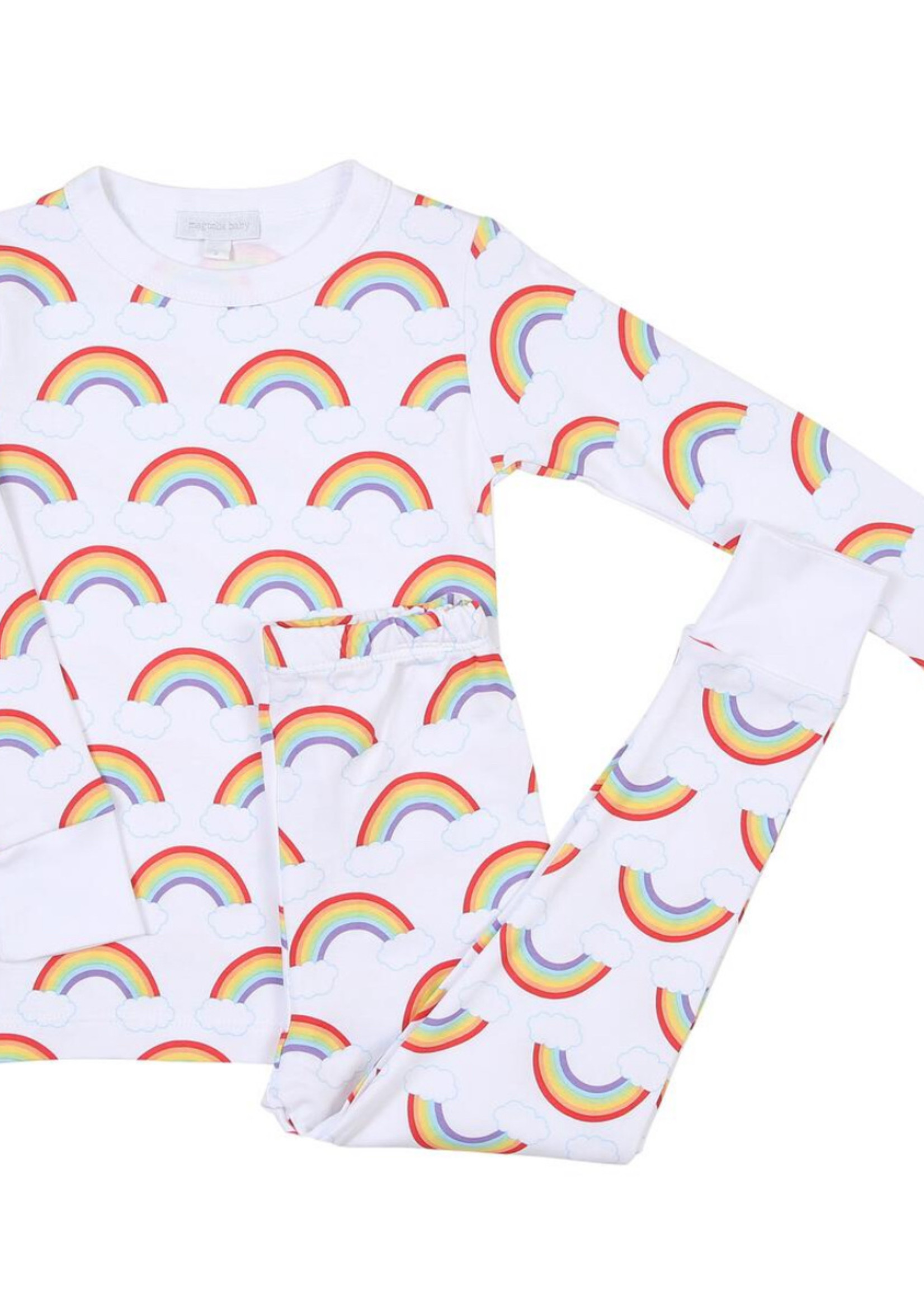 magnolia baby My Rainbow Long Sleeve Pajama