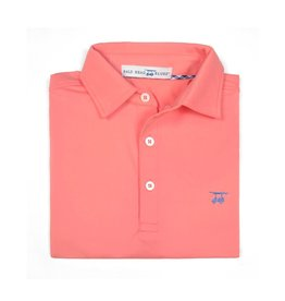 bald head blues Youth Albatross Polo Coral