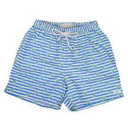 bald head blues Ultramarine Starfish Swim Trunks