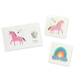 daydream society Unicorns & Rainbows Temporary Tattoos