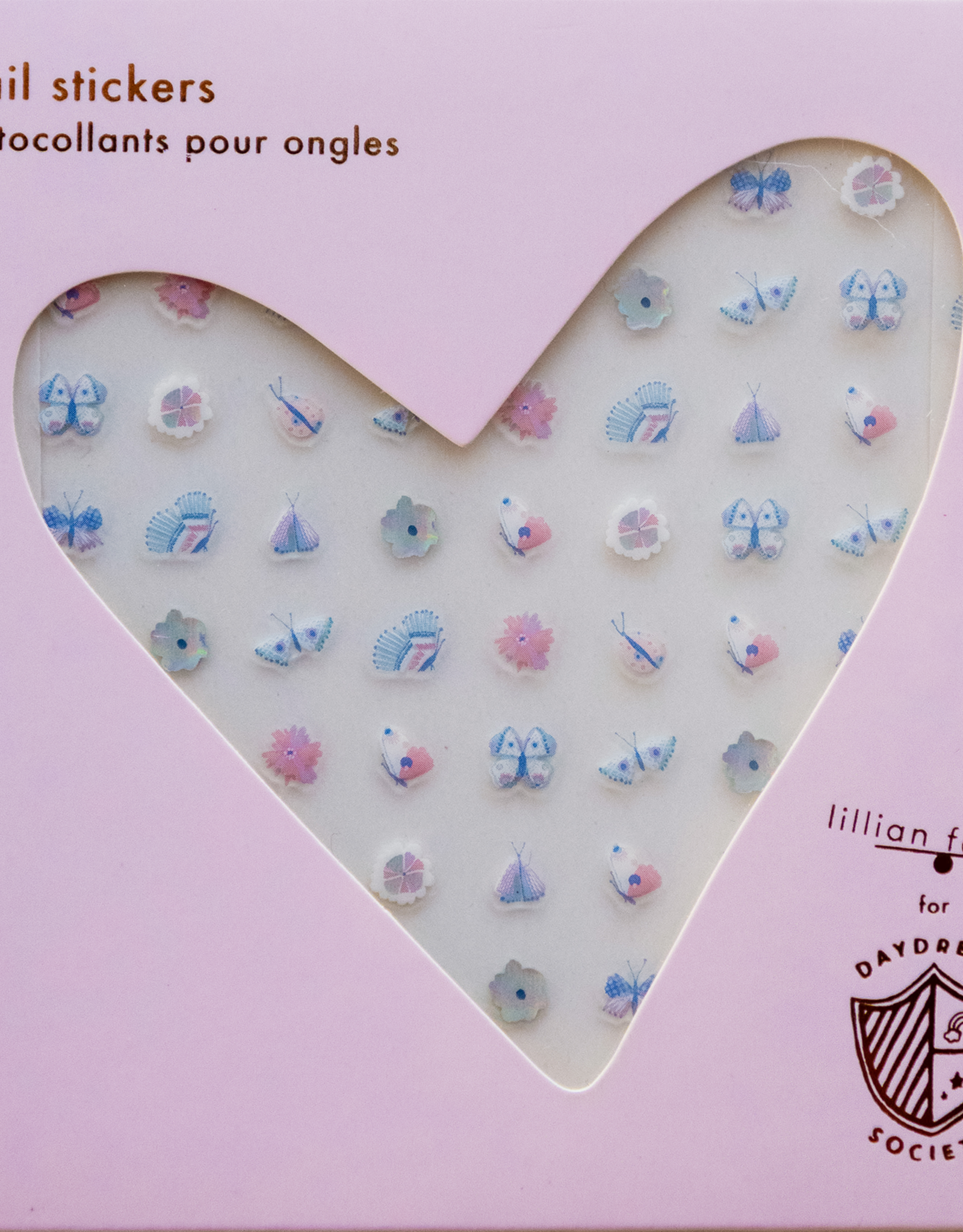 daydream society Flutter Nail Stickers