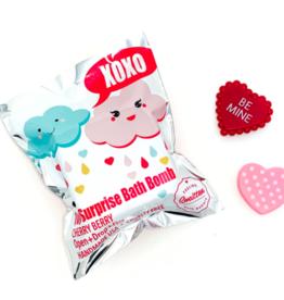 feeling smitten Valentine's Day Surprise Bath Bomb