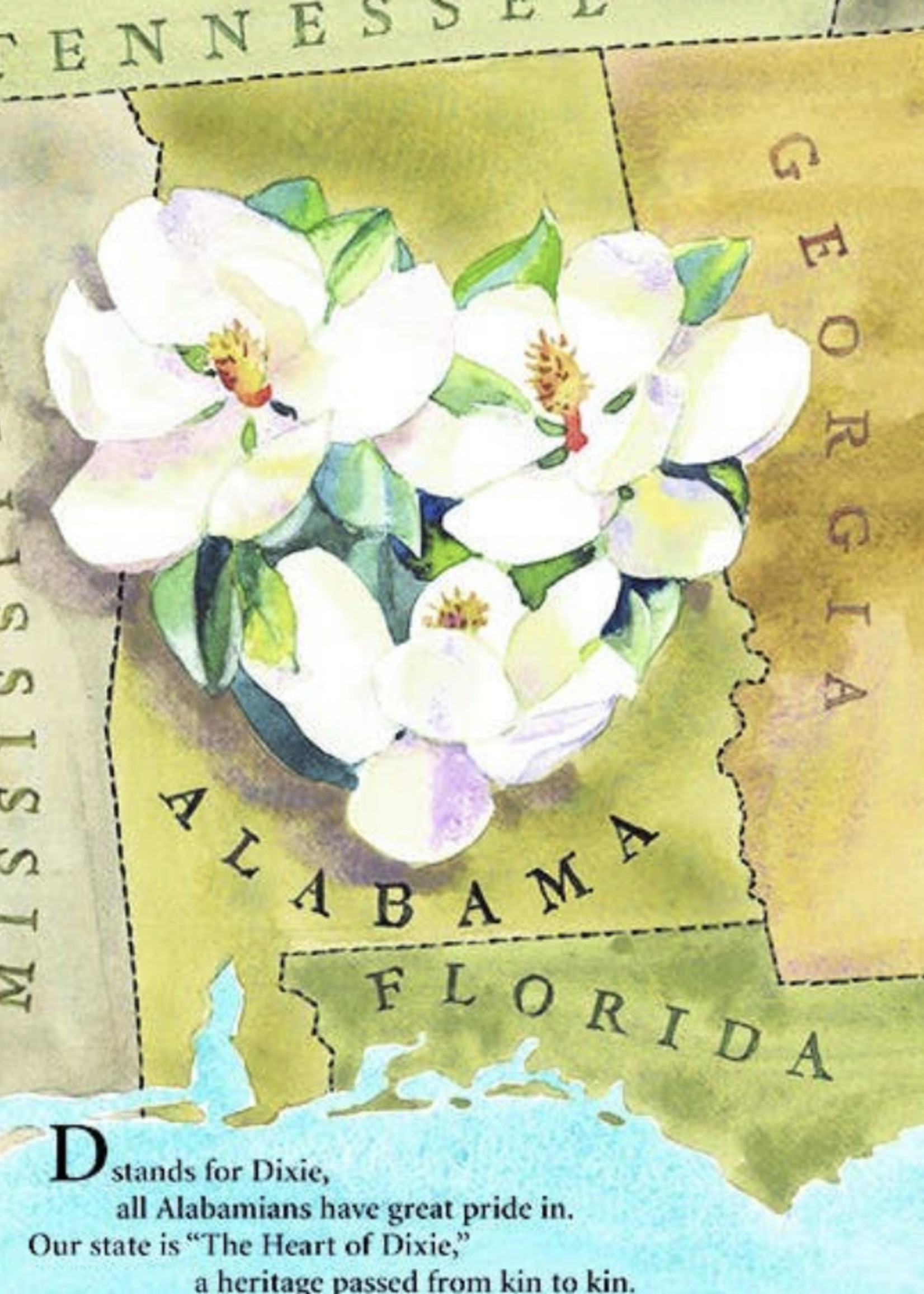 Sleeping bear press An Alabama Alphabet: Y is for yellowhammer