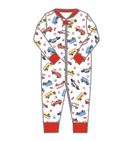 magnolia baby Around the Town Zippered Pajamas