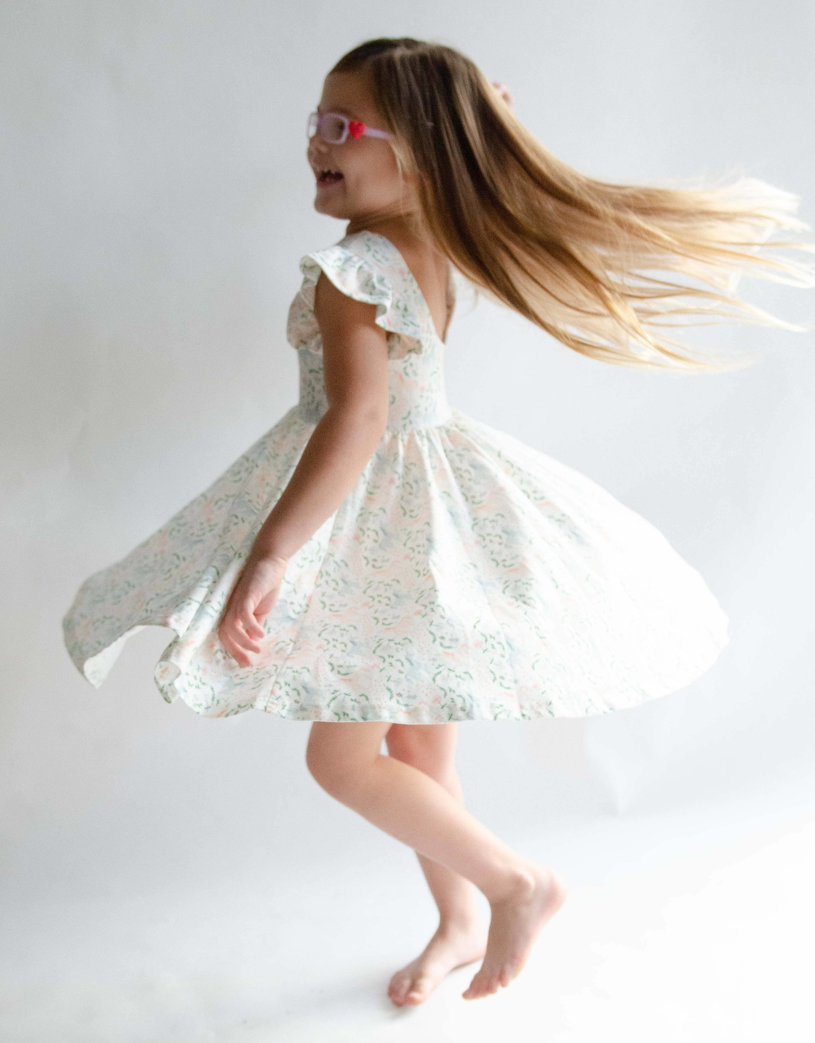ollie jay Olivia Dress in Magical Unicorn