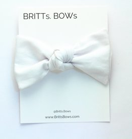 Britts bows Chambray Knot Headband