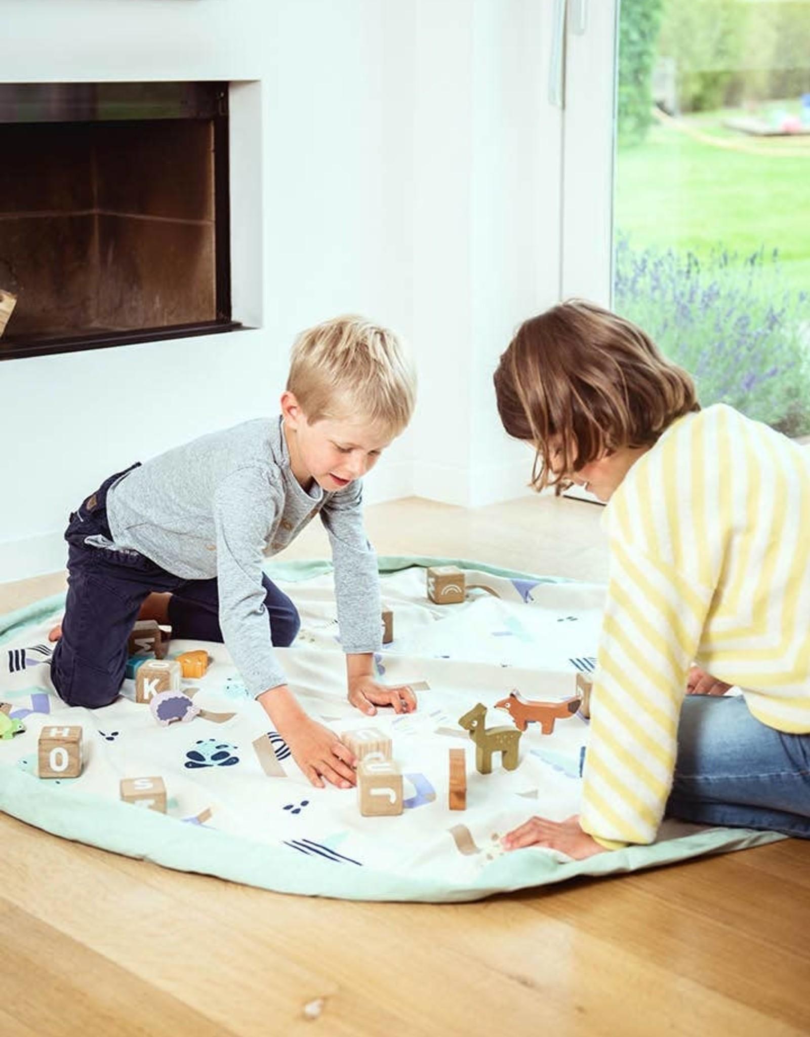 play & go Animal Alphabet Letters Toy Storage