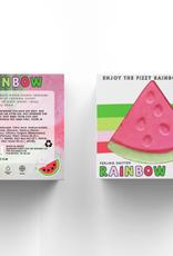 feeling smitten Rainbow Watermelon Bath Bomb