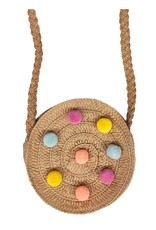 Rockahula Rainbow Crossbody Pom Pom Bag