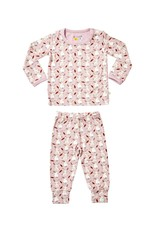 clover baby and kids Bunnies PJ Set