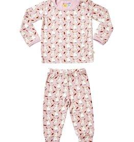 clover baby and kids Bunnies PJ Set