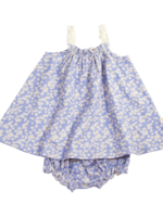 charming mary Primm's Bloomer Set-Cornflowers