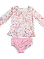charming mary Rashguard Swim Set- Vintage Meadow