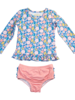 charming mary Rashguard Swim Set- Citrus Splash