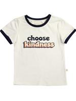 charming mary Backyard Ringer Tee- Choose Kindness