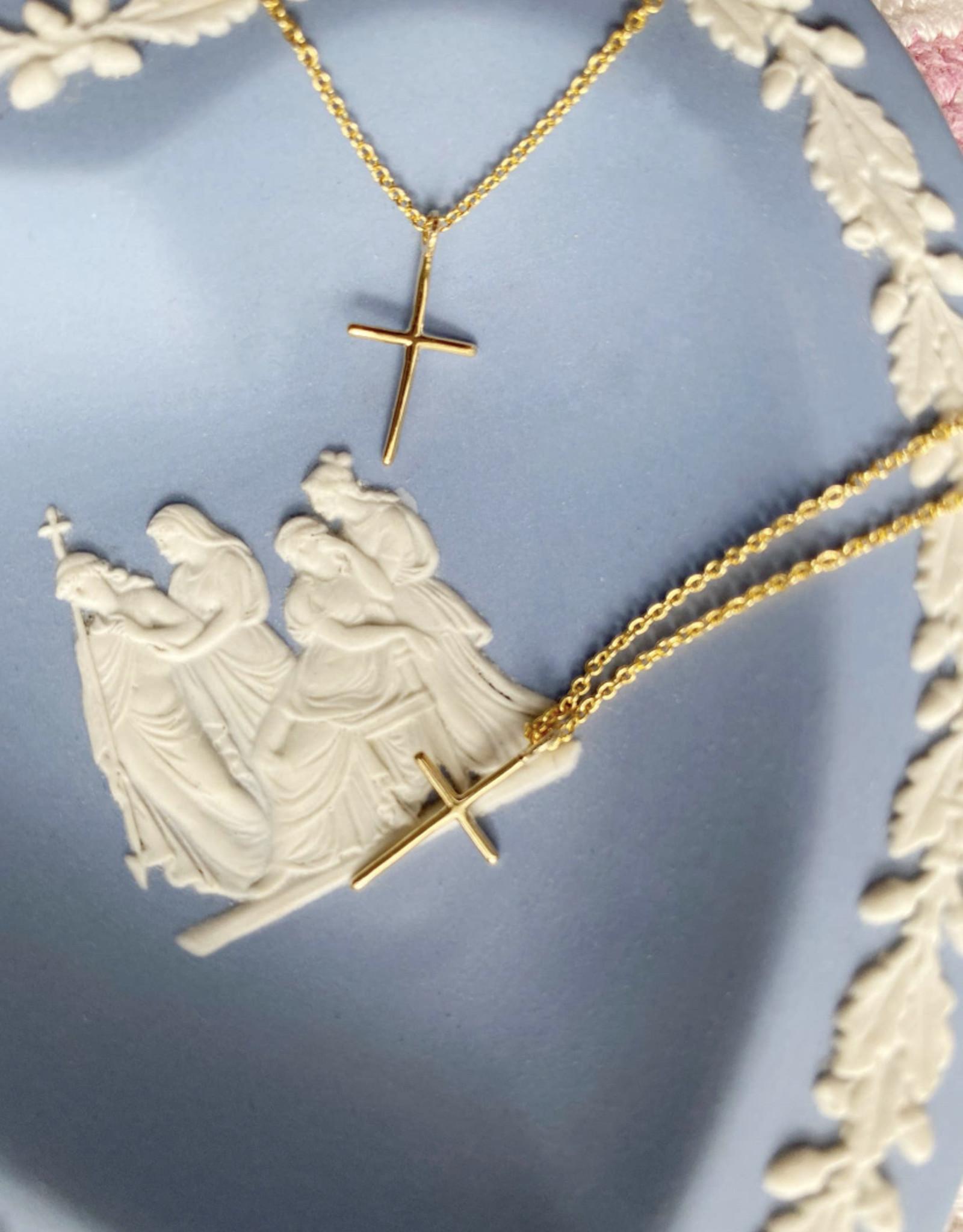 Helmsie Mama + Me Cross Necklace Set