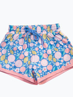 charming mary Boys Swim Trunk- Citrus Splash