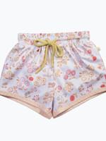 charming mary Boys Swim Trunk- Vintage Meadow