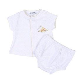 magnolia baby Baby Bird Emb Diaper Cover Set