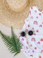 Jack Davis apparel Rainbow Sleeveless Bubble