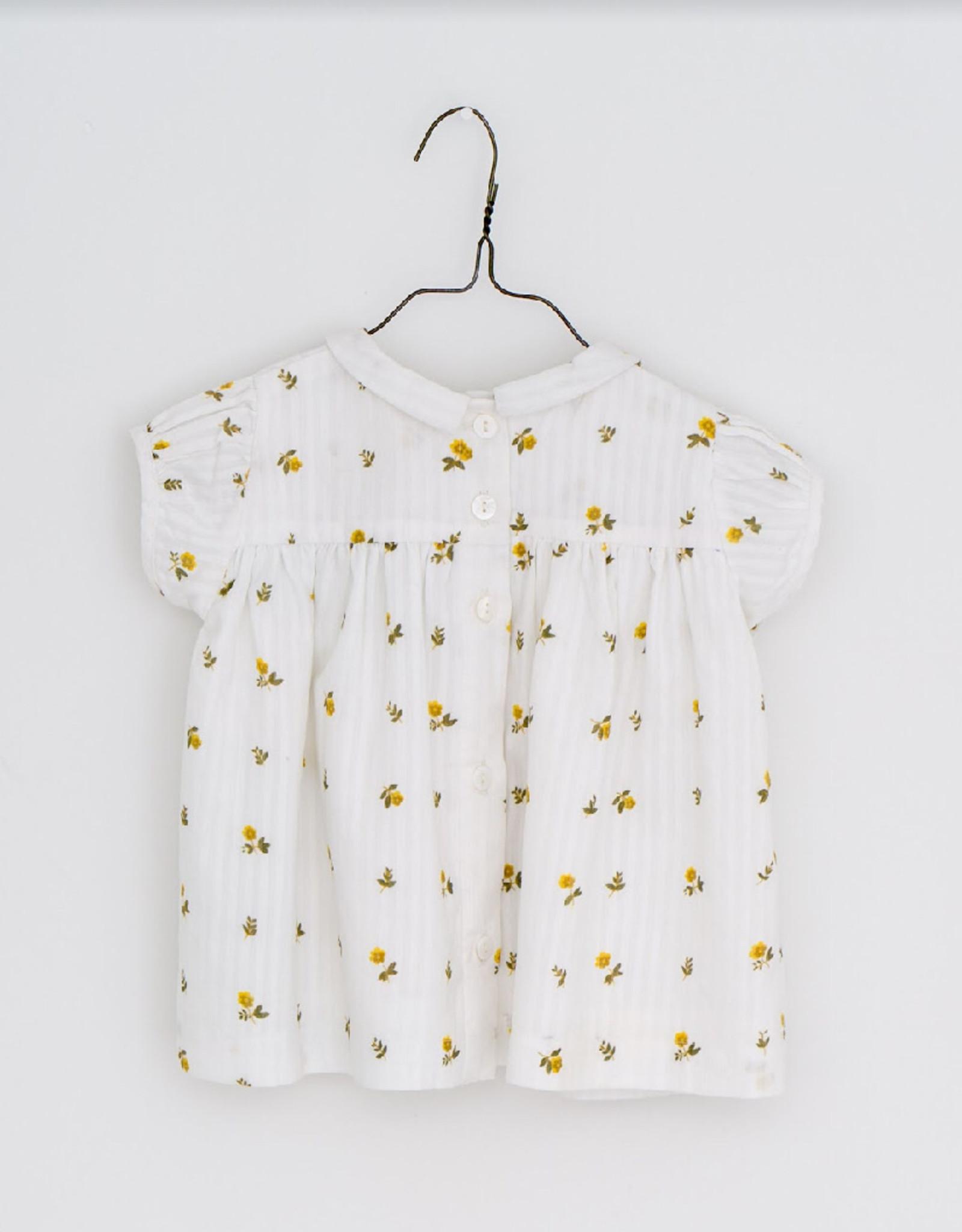Little Cotton clothes Juno Blouse in Clover Floral Seersucker