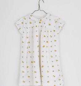 Little Cotton clothes Hera Dress in floral clover seersucker