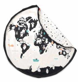 play & go Worldmap/stars toy storage bag