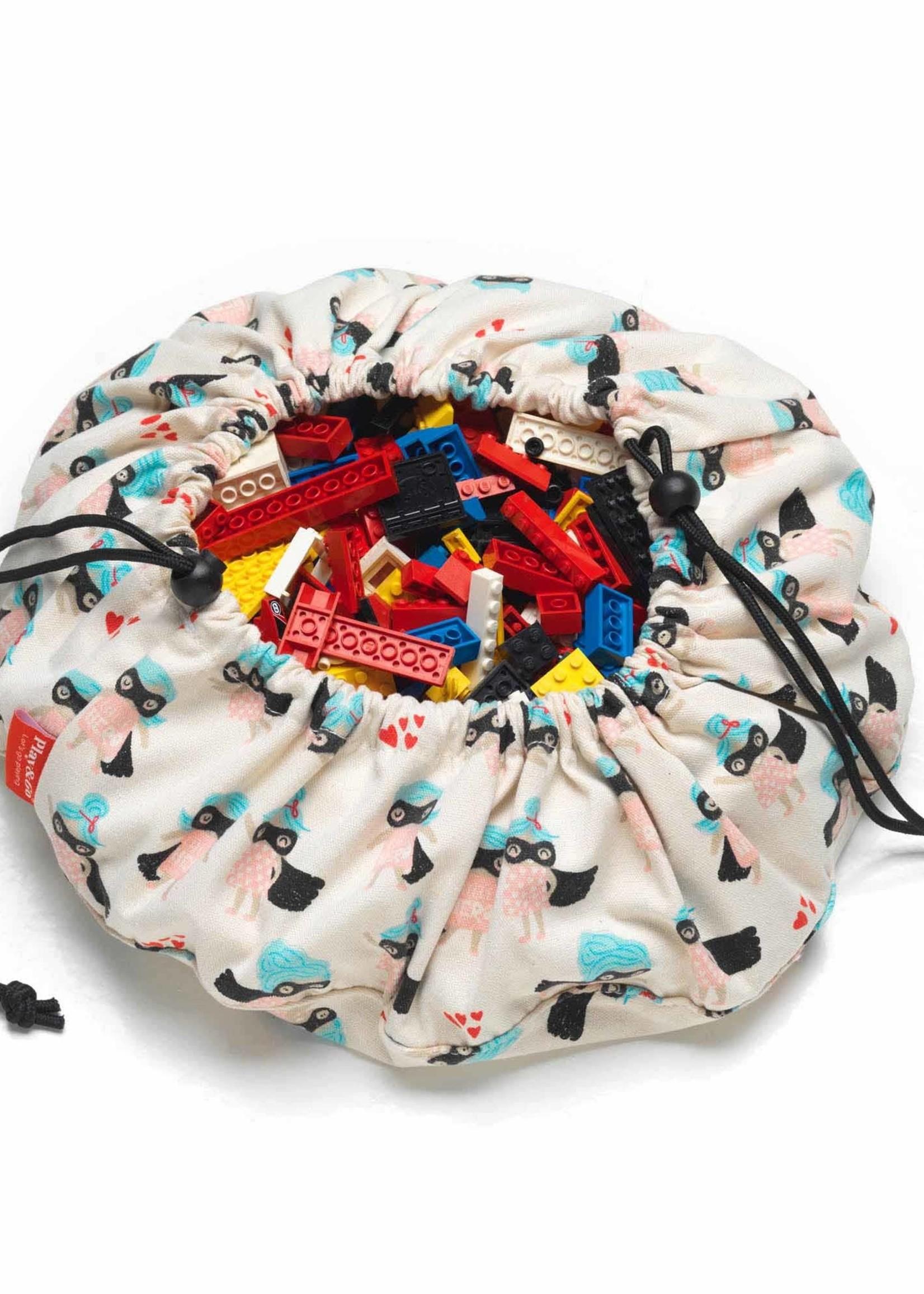 play & go Supergirl mini toy storage bag