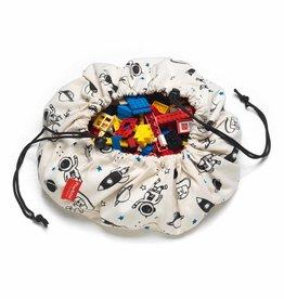 play & go Space mini toy storage bag