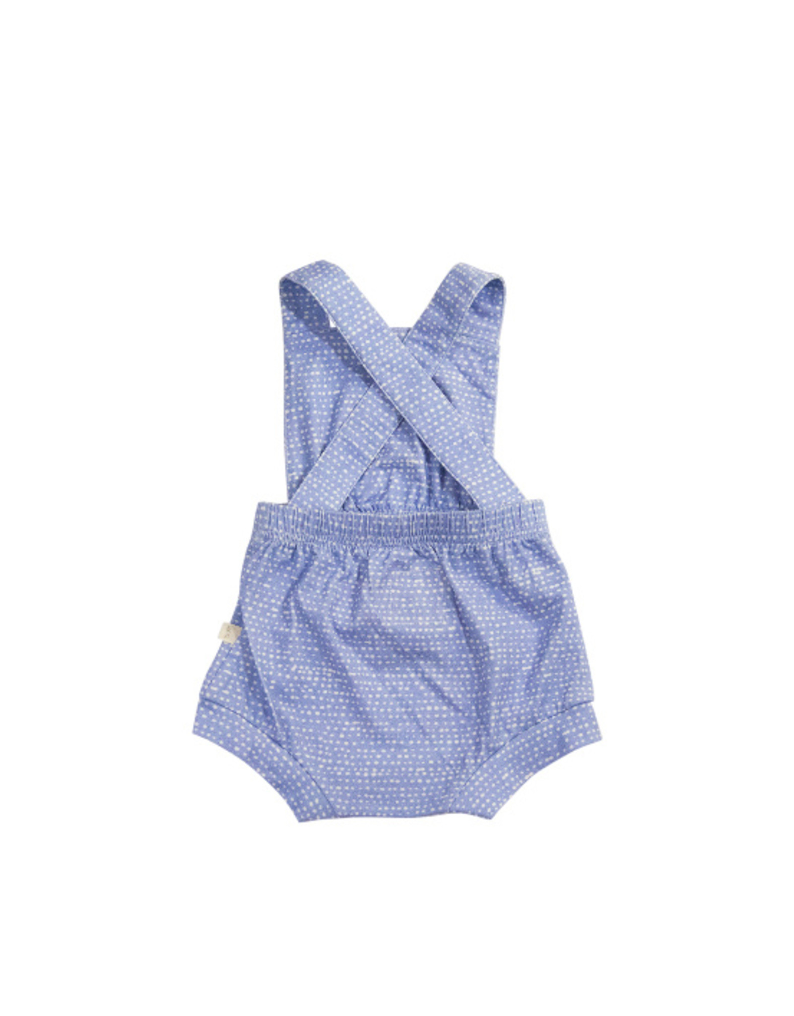 charming mary Cottage Romper- Rain Drops