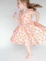 ollie jay Rosita Dress in Peachy