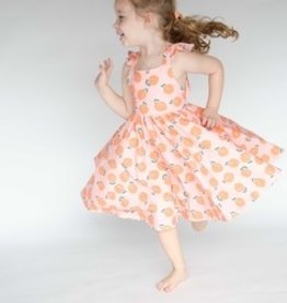 ollie jay Rosita Dress in Peachy