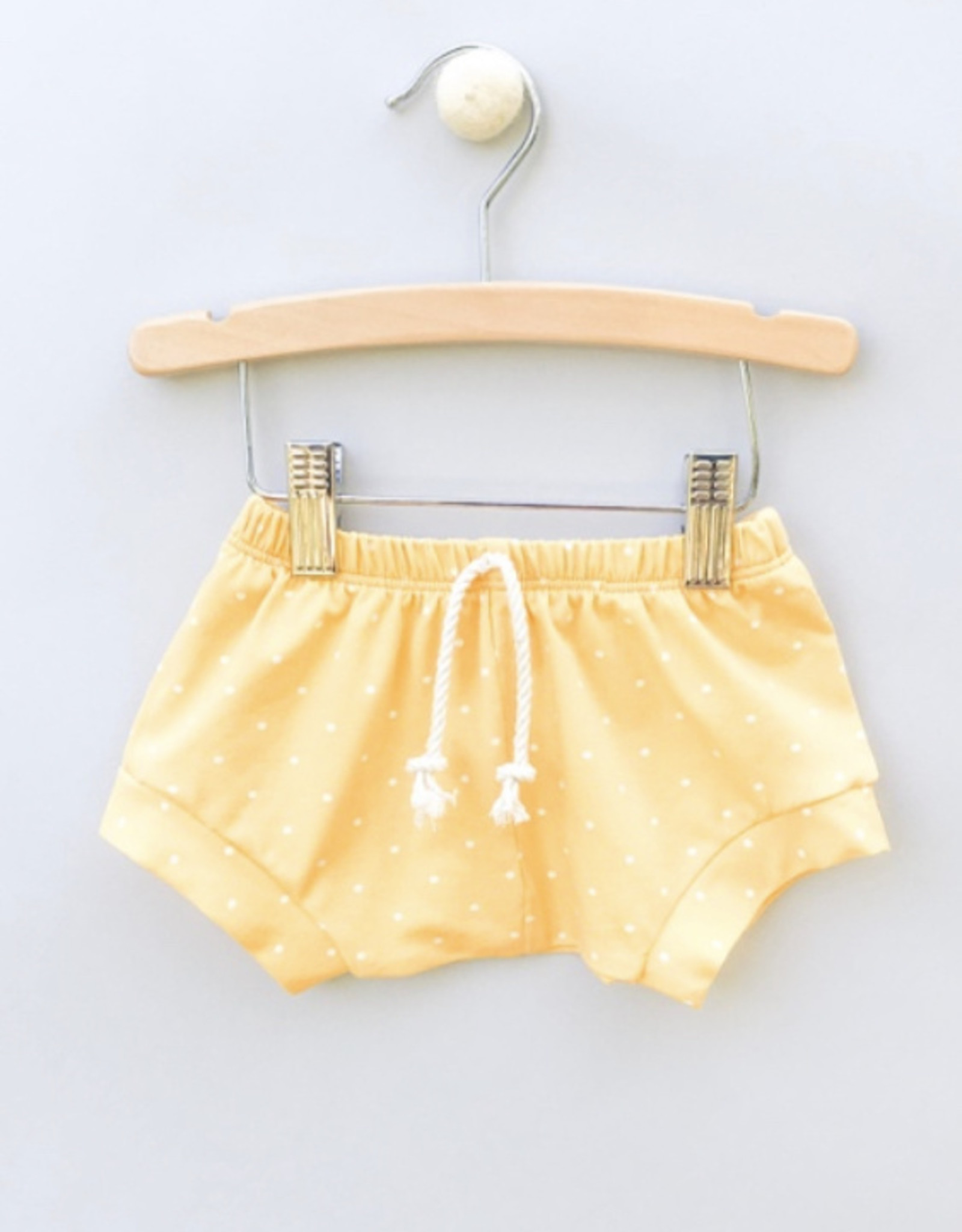 Jack Davis apparel Yellow Dot Shorties