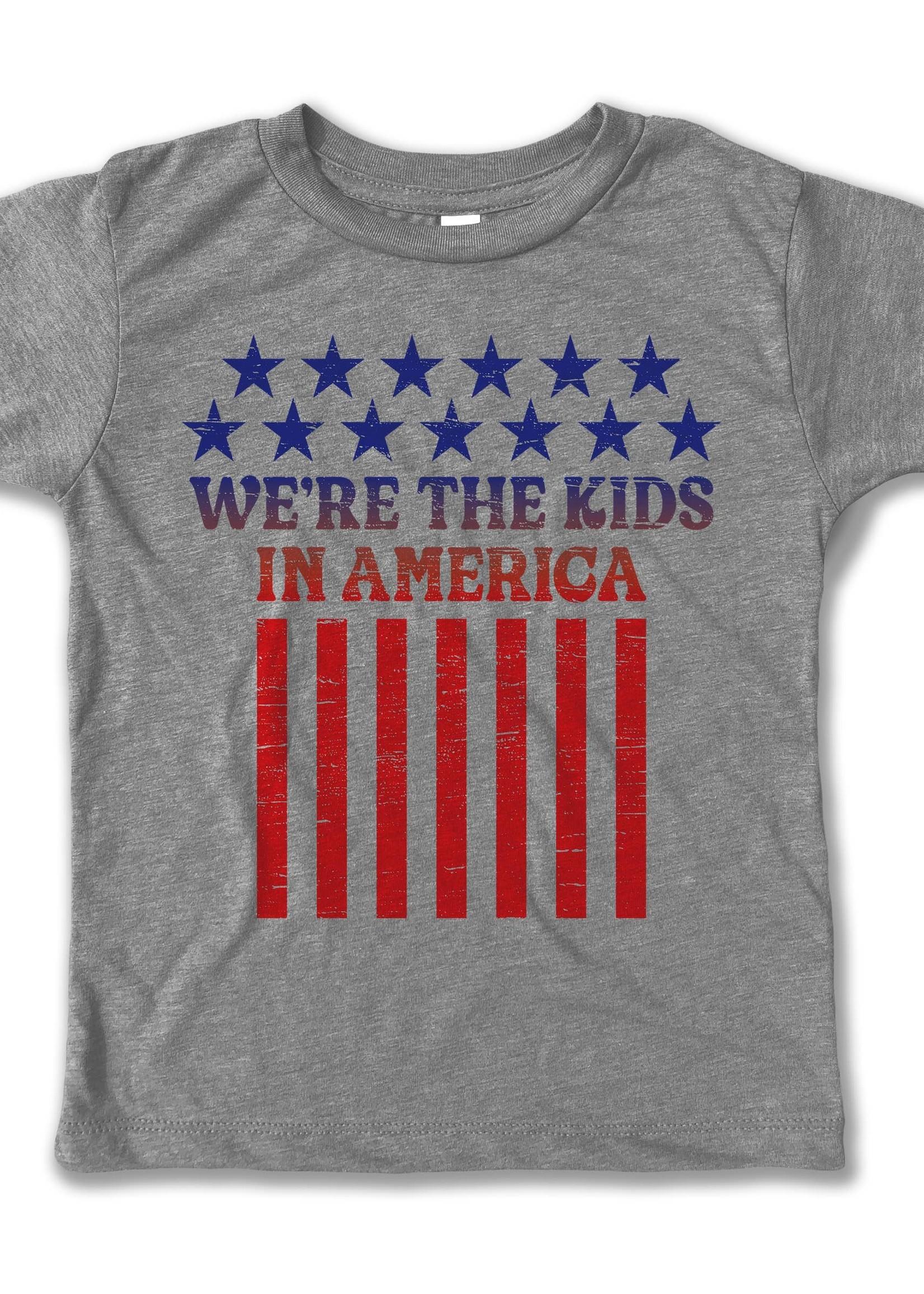Rivet apparel We're the Kids of America Tee