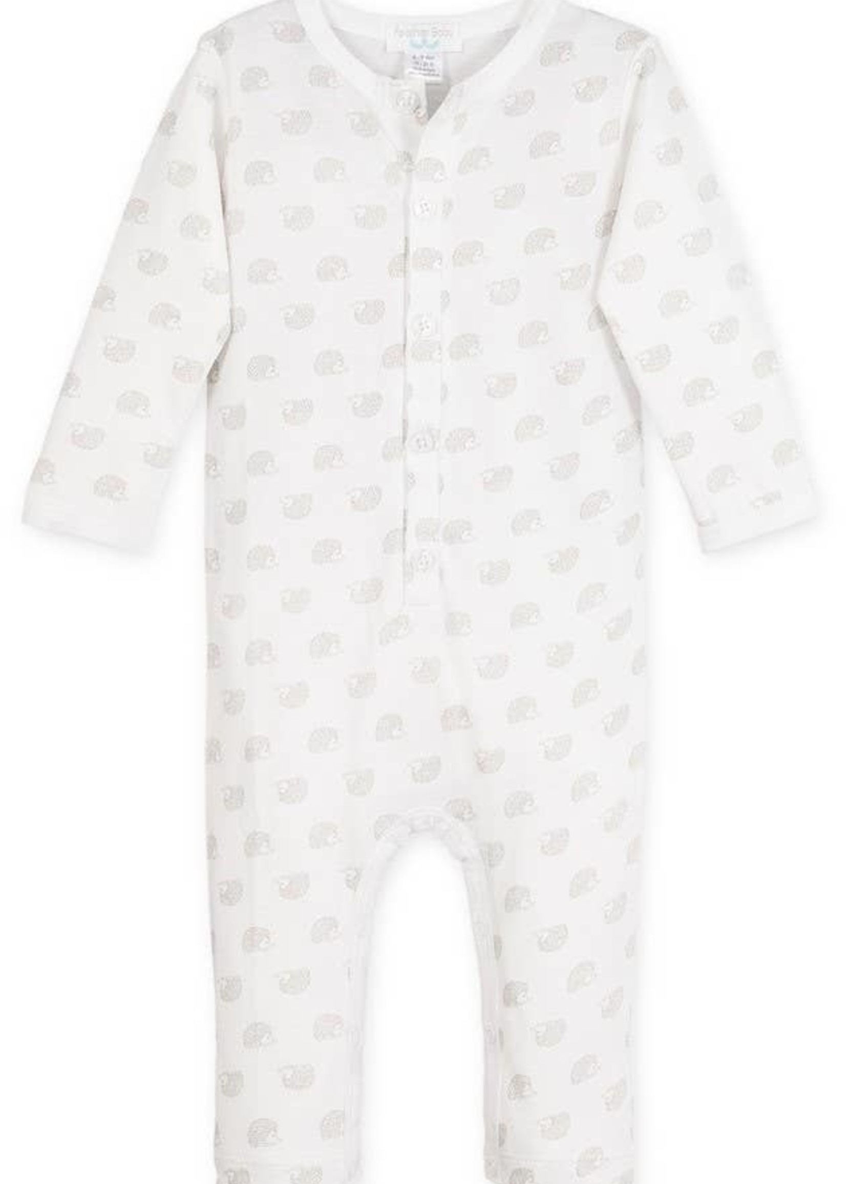 feather baby Hedgehogs on White- Henley Long John