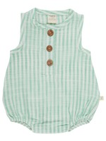 Tiny twig Ocean Stripes Bubble Romper